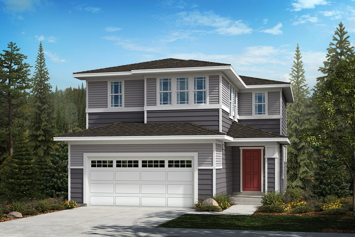 New Homes in Kent, WA - Ridgecrest Plan 1565 - Elevation C