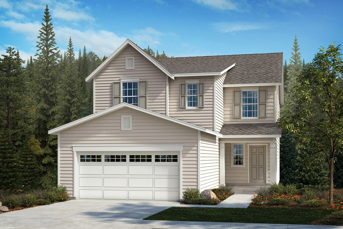 New Homes in Kent, WA - Ridgecrest Plan 2265 - Elevation A
