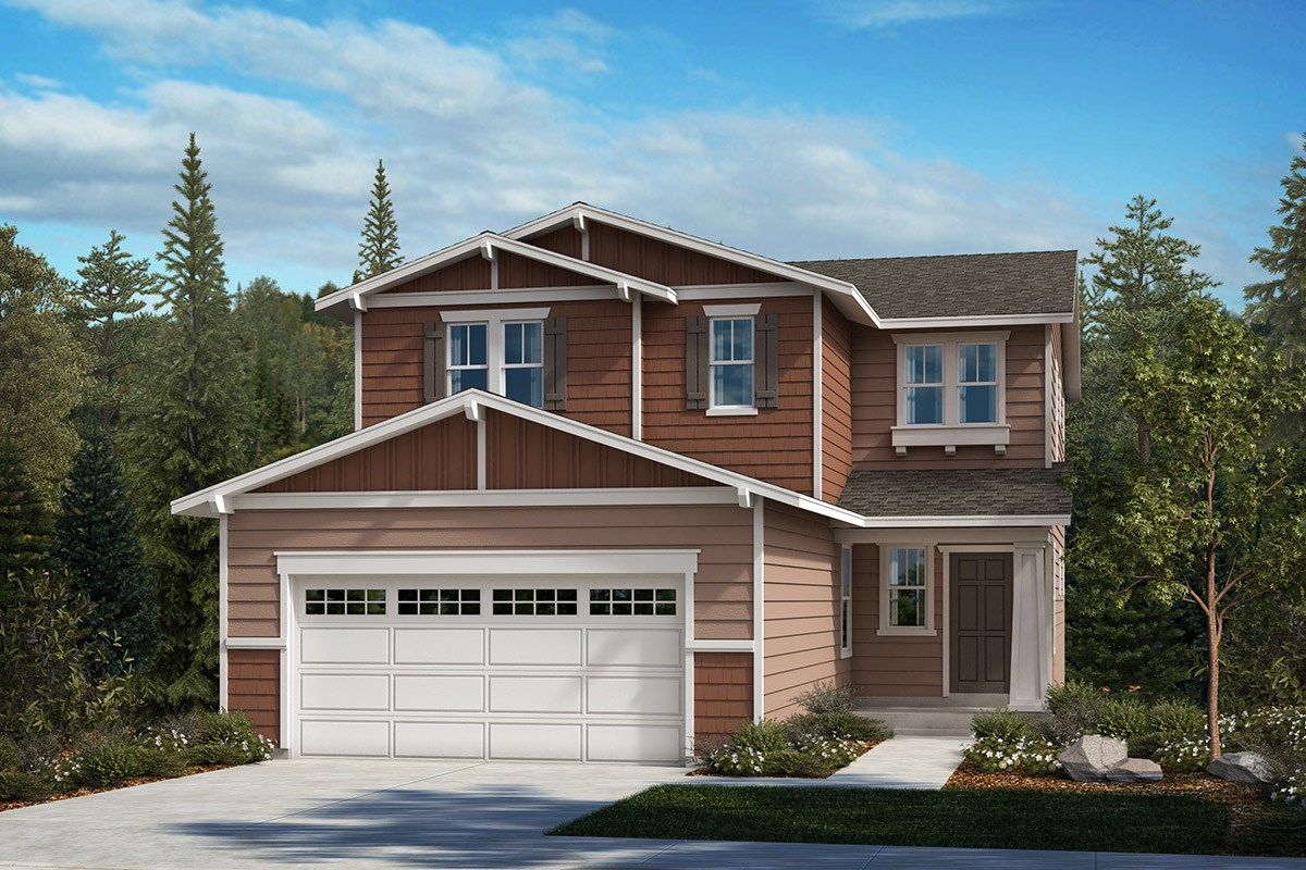 New Homes in Kent, WA - Ridgecrest Plan 2265 - Elevation B