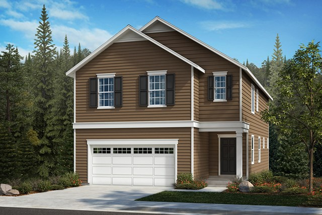 New Homes in Kent, WA - Elevation A