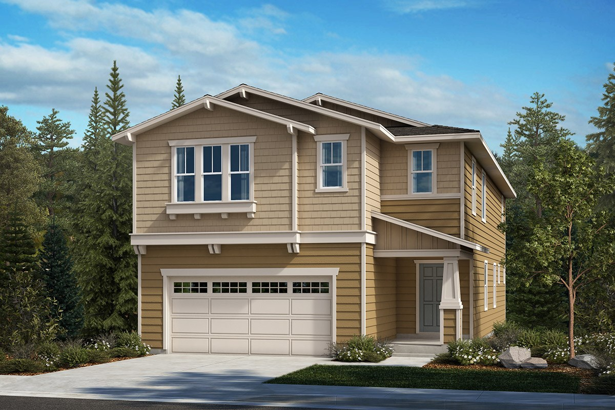 New Homes in Kent, WA - Ridgecrest Plan 2751 - Elevation B
