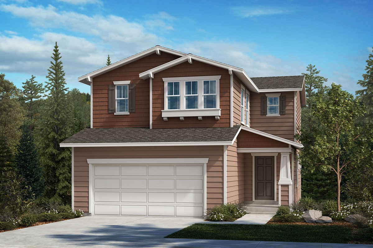 New Homes in Covington, WA - Tahoma Crest Plan 1565 Elevation B