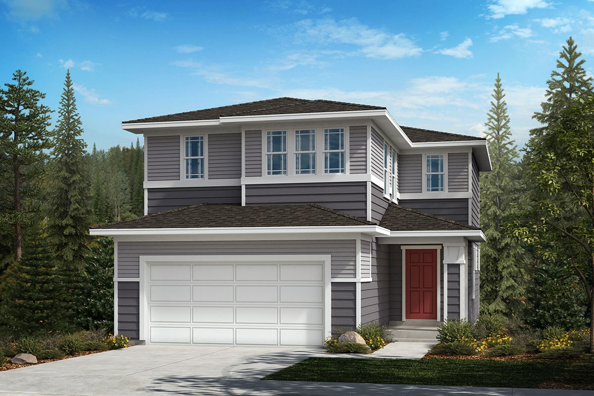 New Homes in Covington, WA - Tahoma Crest Plan 1565 Elevation C