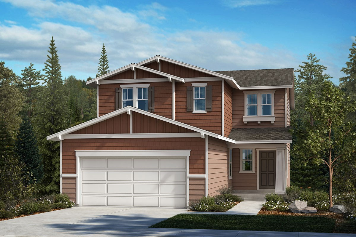 New Homes in Covington, WA - Tahoma Crest Plan 2265 Elevation B