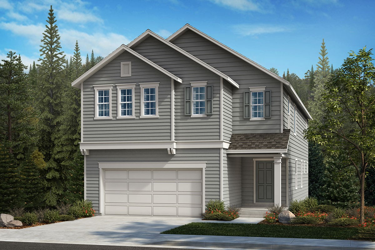 New Homes in Covington, WA - Tahoma Crest Plan 2751 Elevation A
