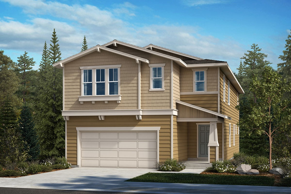 New Homes in Covington, WA - Tahoma Crest Plan 2751 Elevation B