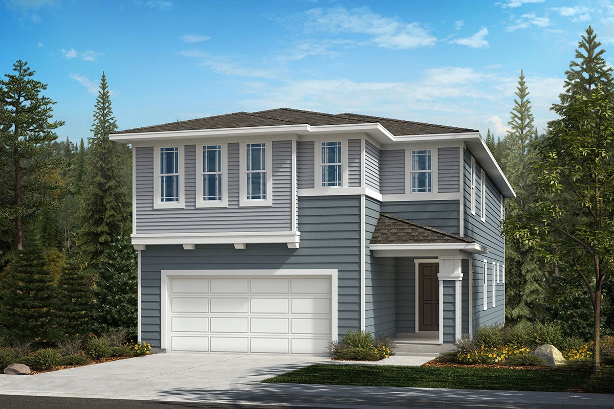 New Homes in Covington, WA - Tahoma Crest Plan 2751 Elevation C