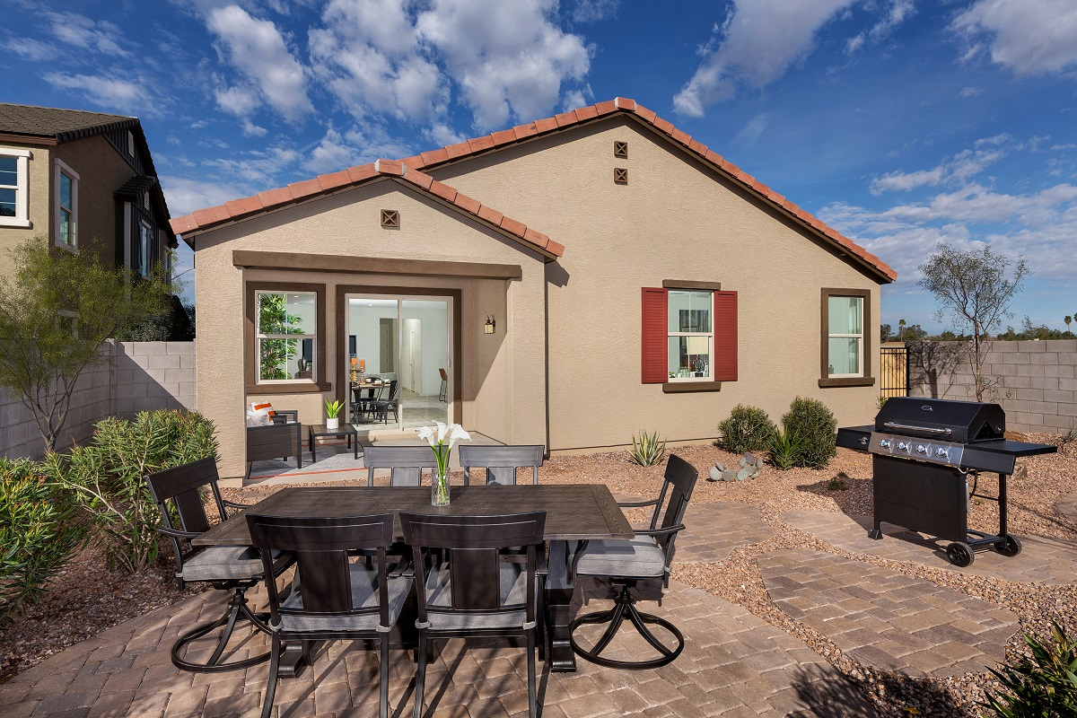 New Homes in Mesa, AZ - Allred Ranch Plan 1838 Patio