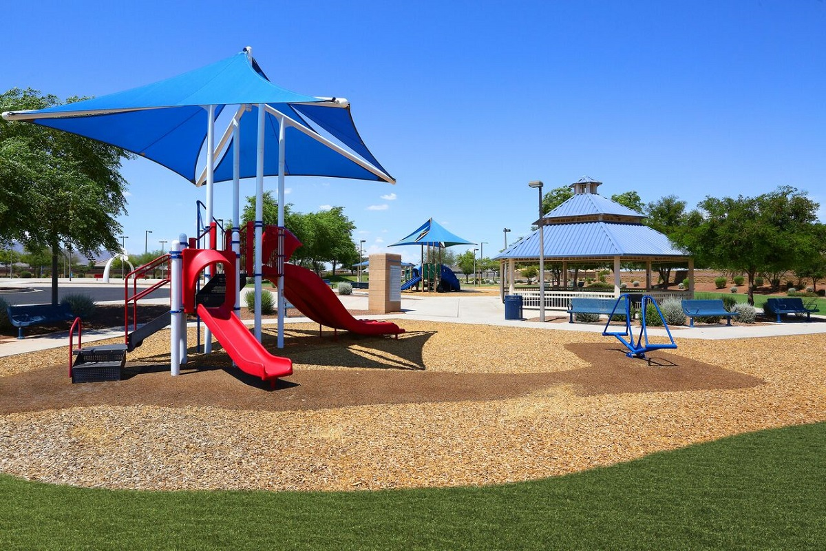 New Homes in Buckeye, AZ - Blue Horizons Traditions Blue Horizons Playground