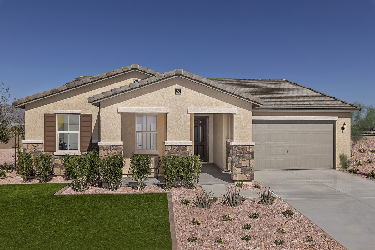 New Homes in Buckeye, AZ - Plan 2096 Modeled