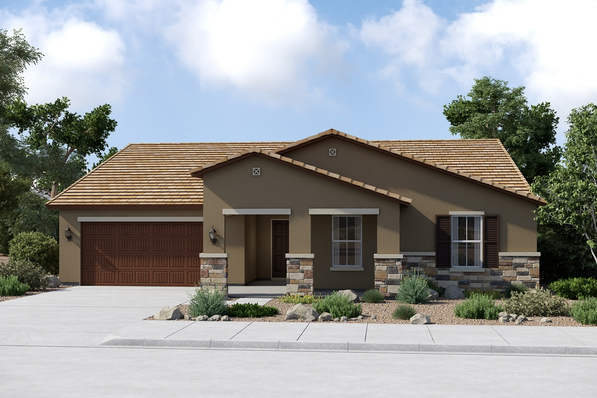 New Homes in Buckeye, AZ - Plan 2301 Elevation C