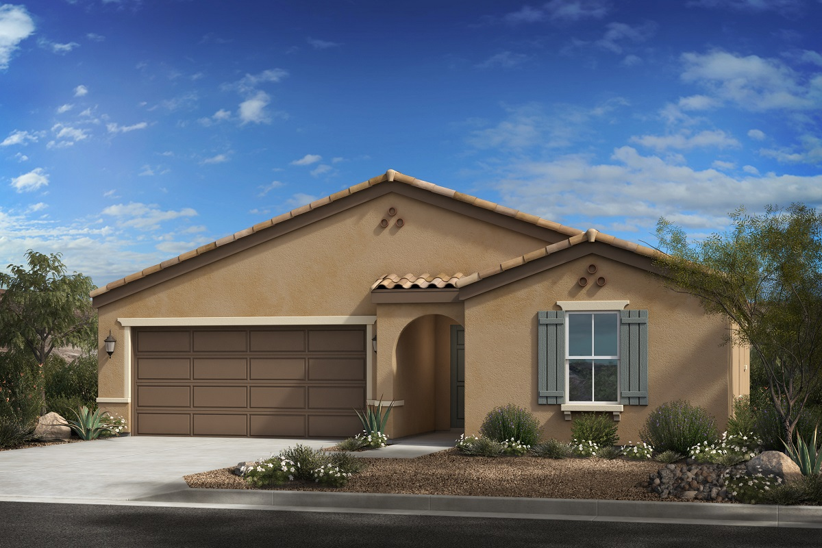New Homes in Buckeye, AZ - Encantada Estates Plan 1612 Elevation A