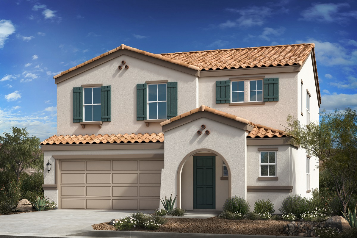New Homes in Buckeye, AZ - Encantada Estates Plan 2541 Elevation A