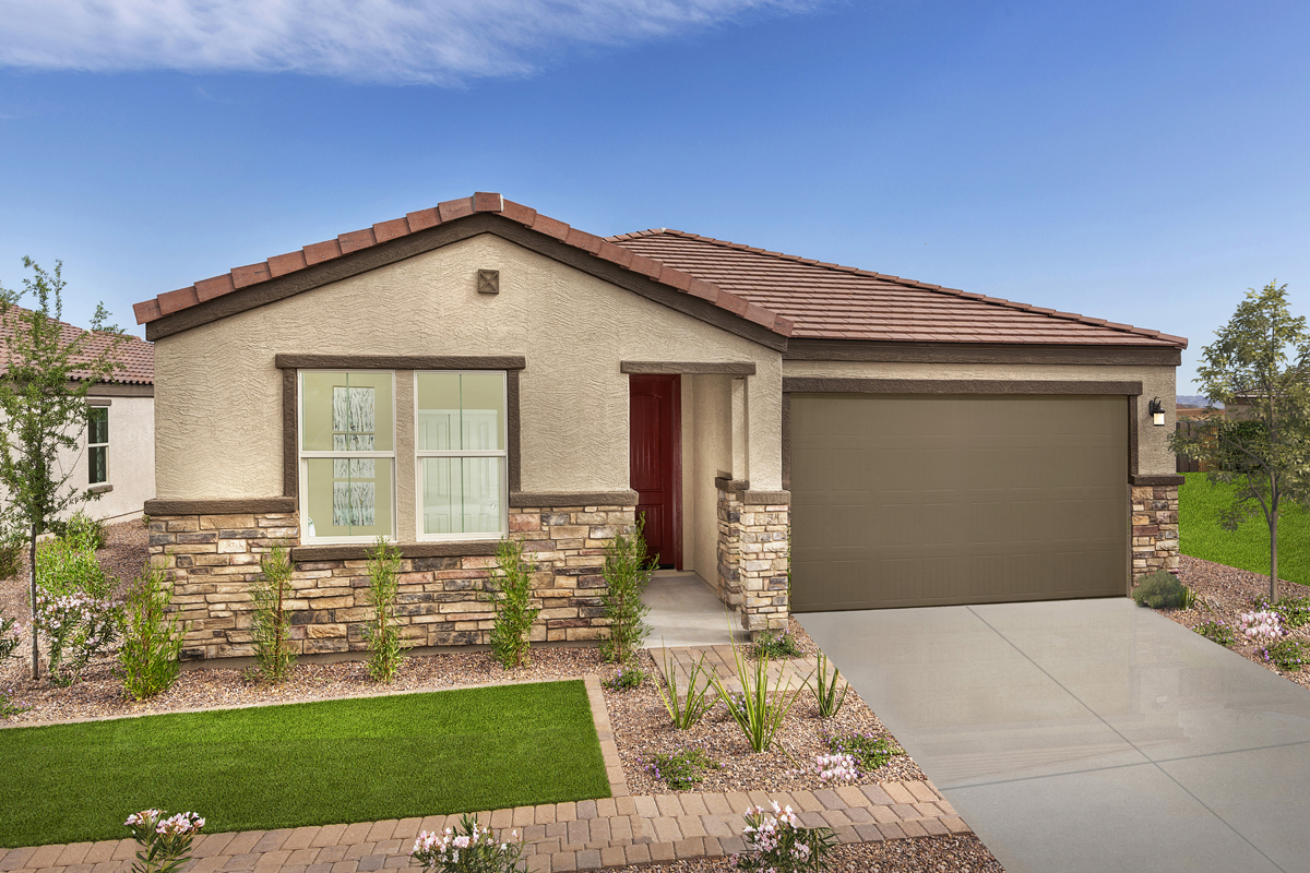 New Homes in Buckeye, AZ - Blue Horizons Enclaves Plan 1612 Exterior