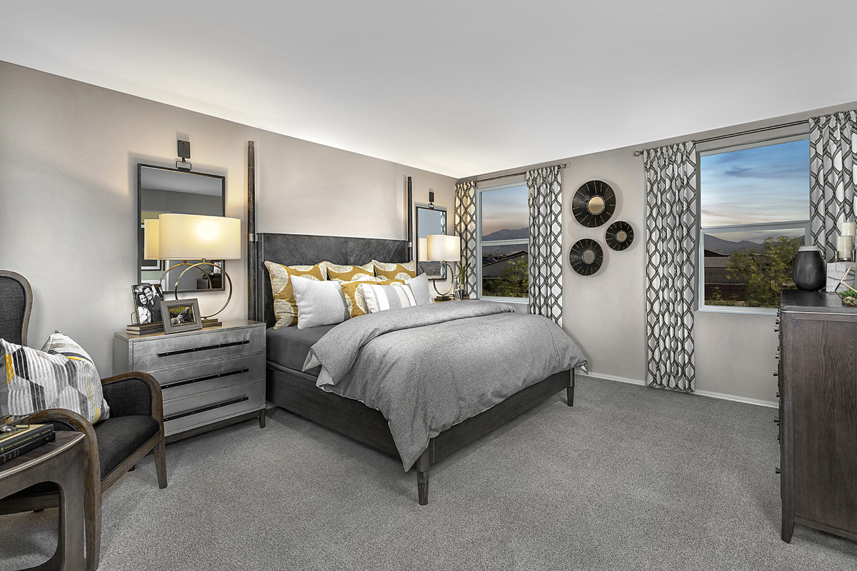 New Homes in Buckeye, AZ - Blue Horizons Traditions Plan 2358 Master Bedroom