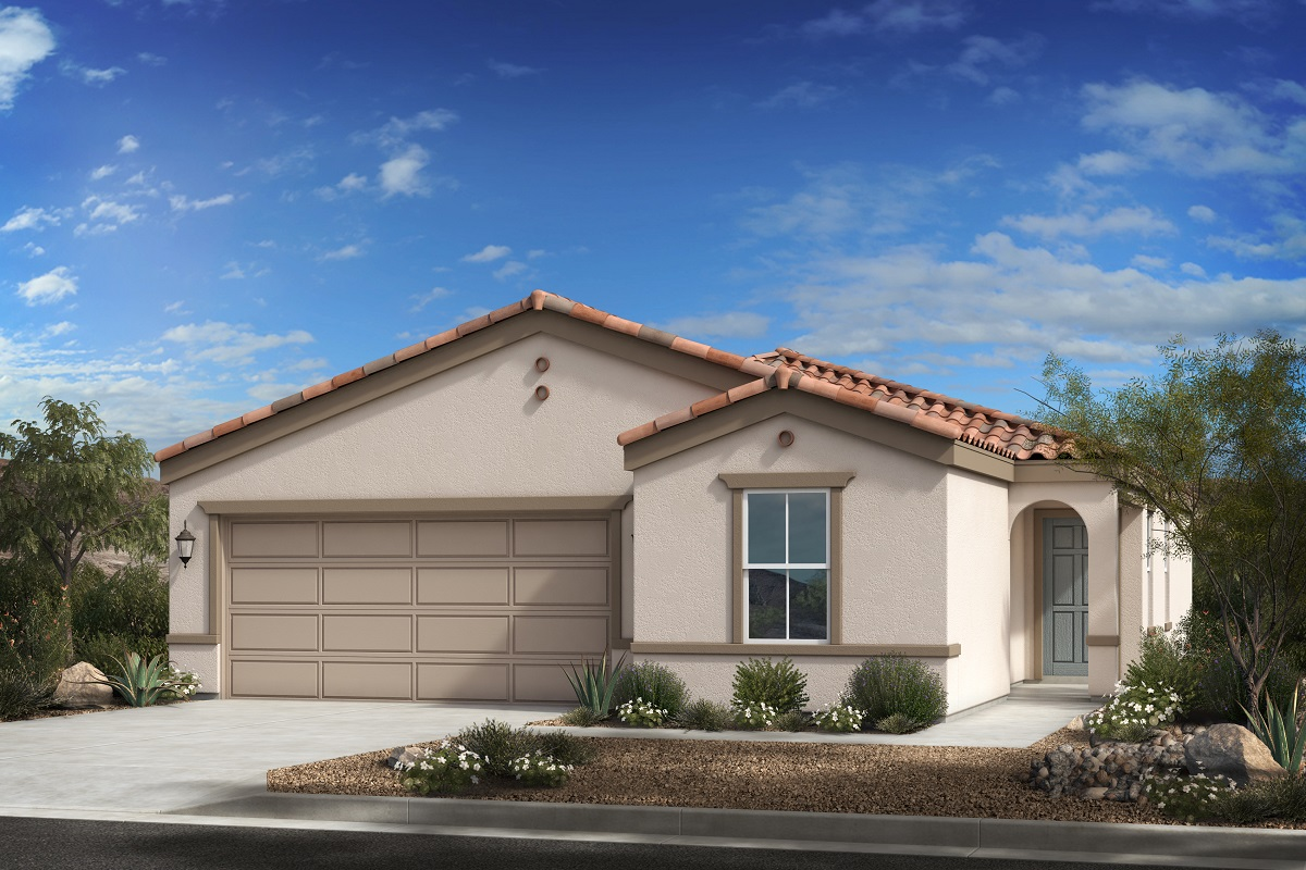 New Homes in Buckeye, AZ - Blue Horizons Traditions Plan 1439 Elevation A