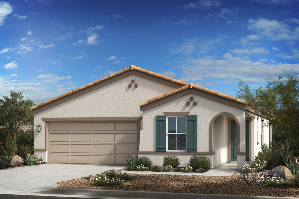 New Homes in Buckeye, AZ - Blue Horizons Traditions Plan 1547 Elevation A