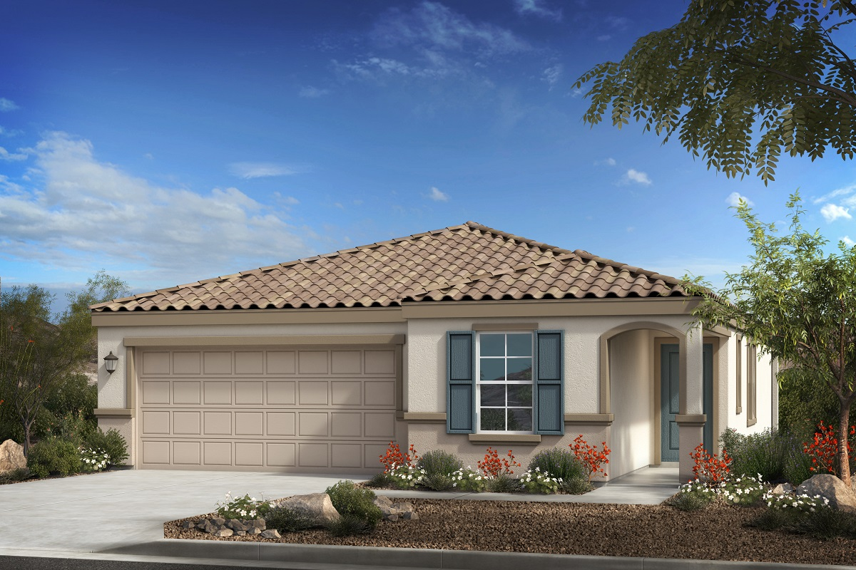 New Homes in Buckeye, AZ - Blue Horizons Traditions Plan 1547 Elevation B