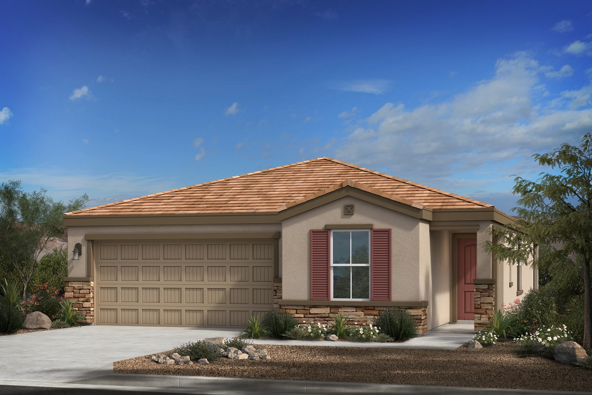 New Homes in Buckeye, AZ - Blue Horizons Traditions Plan 1547 Elevation C