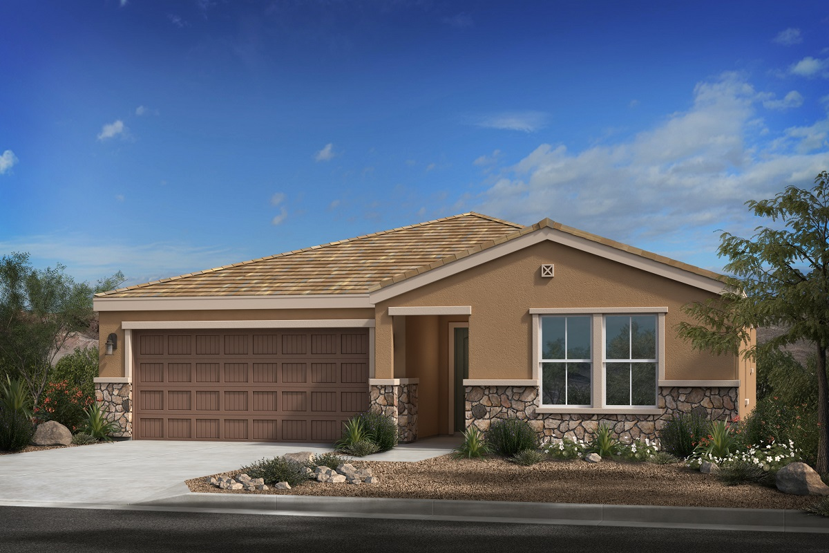 New Homes in Buckeye, AZ - Plan 1612 Elevation C