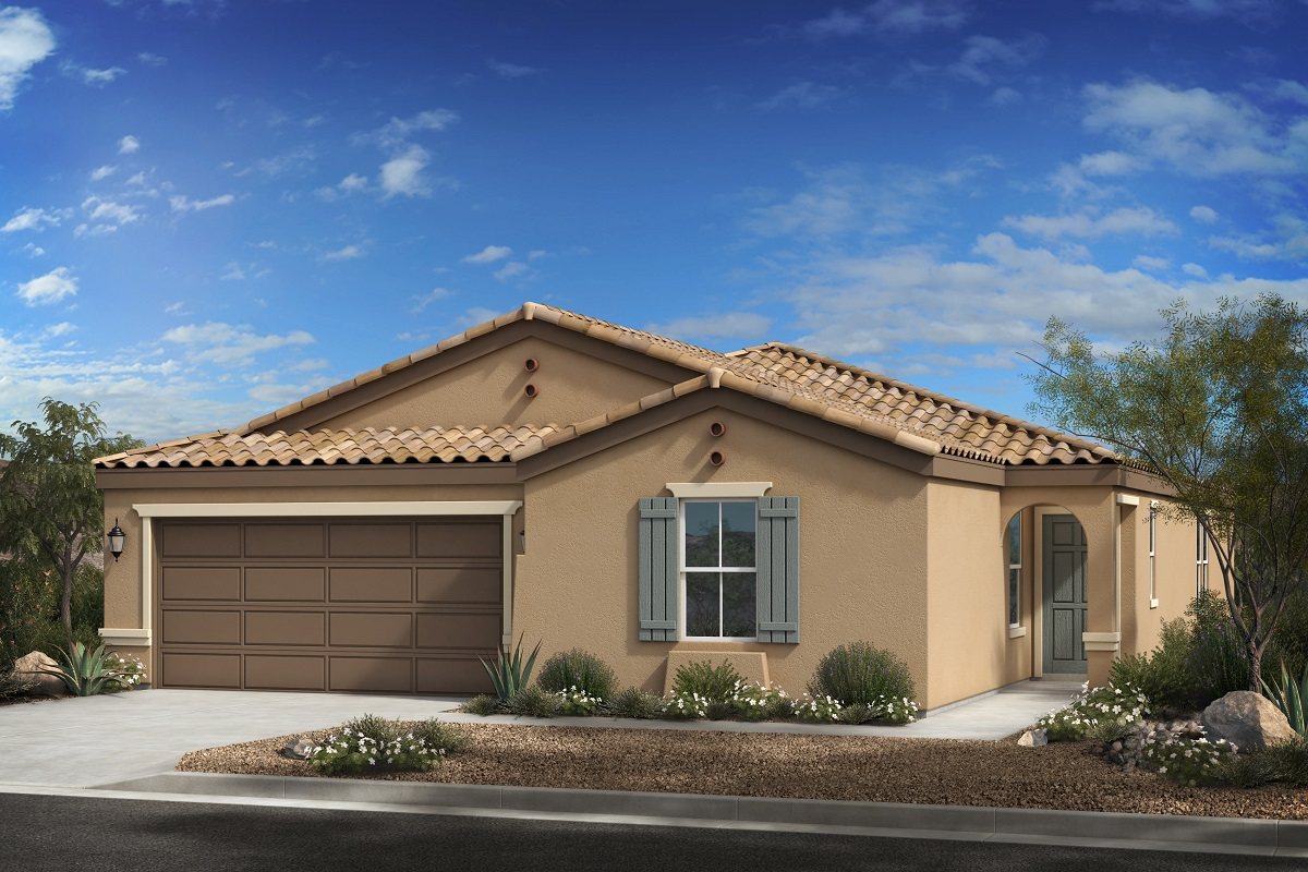 New Homes in Buckeye, AZ - Blue Horizons Enclaves Plan 2121 Elevation A