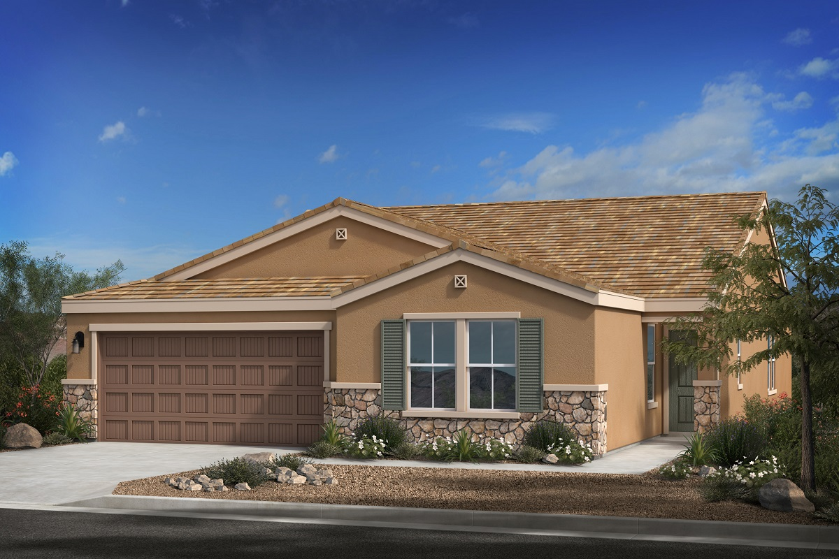 New Homes in Buckeye, AZ - Blue Horizons Enclaves Plan 2121 Elevation C