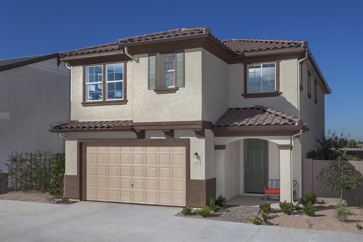 New Homes For Sale In Gilbert Az Copper Ranch Villas Community By Kb Home