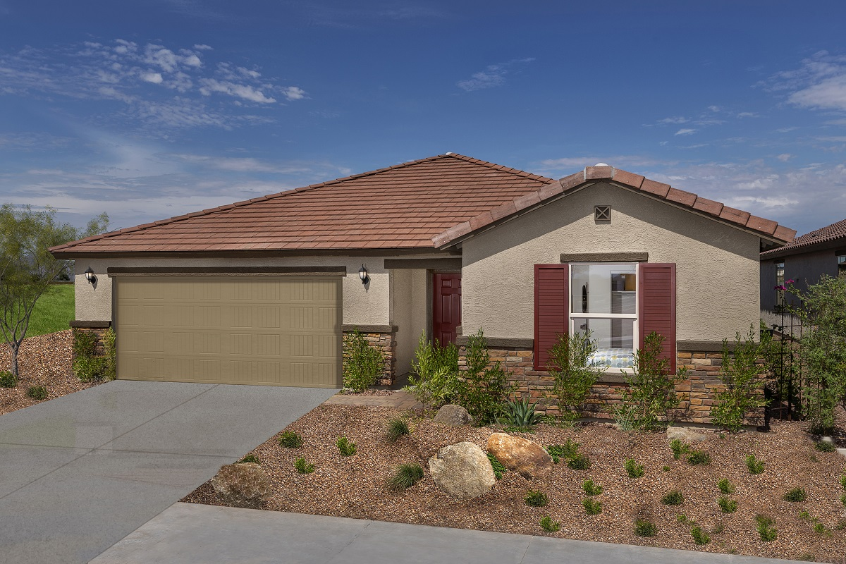 New Homes in Surprise, AZ - Cortana at Desert Oasis Plan 1888 Exterior