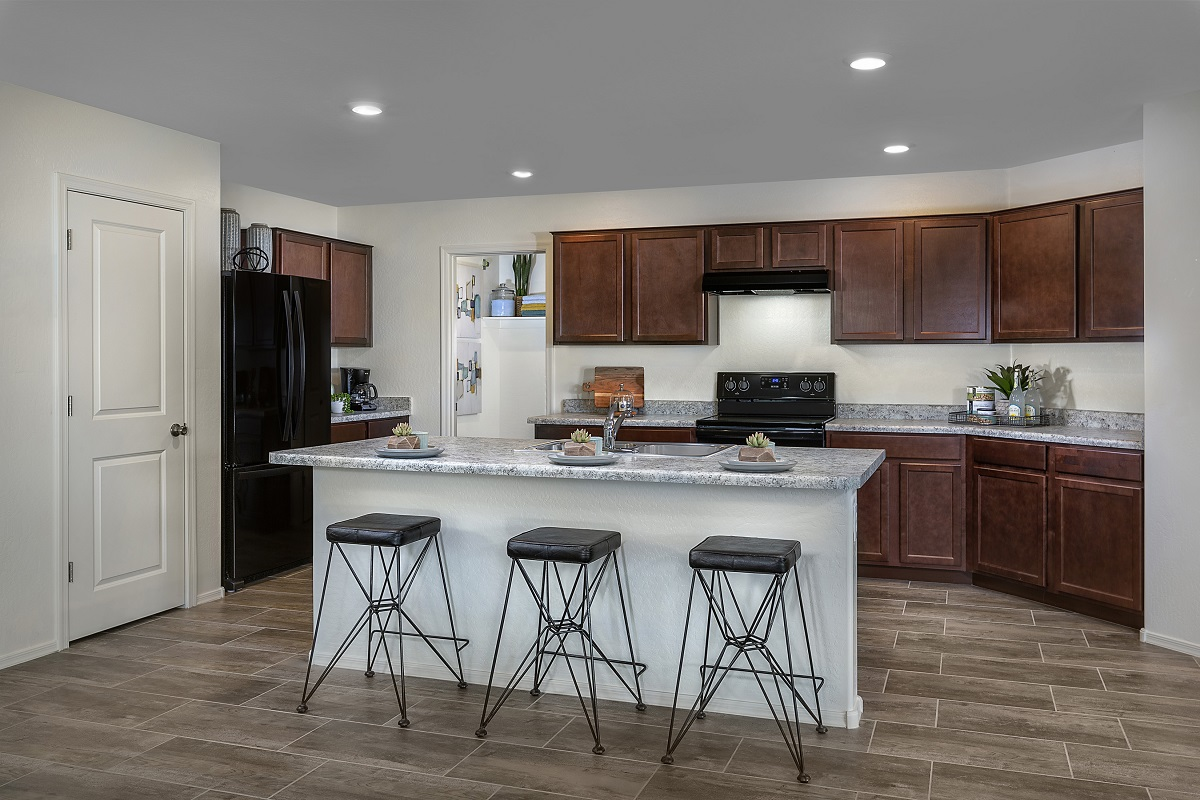 New Homes in Surprise, AZ - Cortana at Desert Oasis Plan 1888 Kitchen