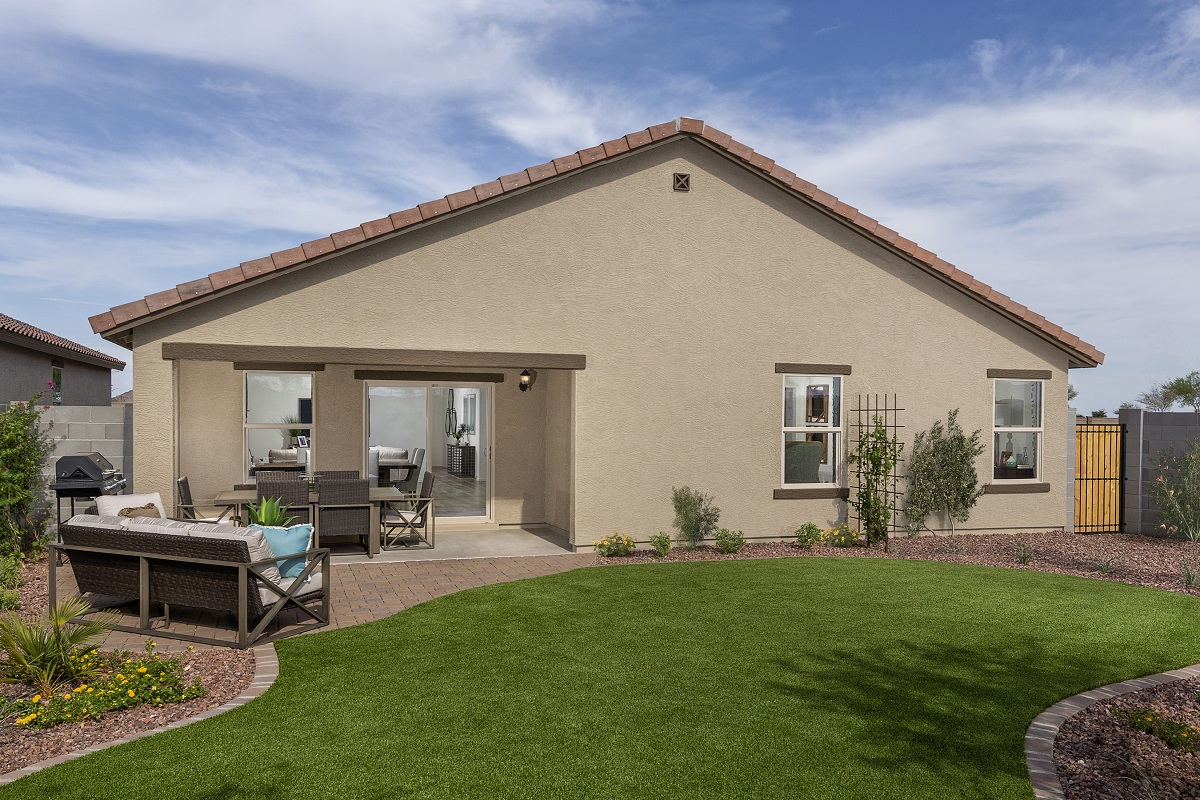 New Homes in Surprise, AZ - Cortana at Desert Oasis Plan 1888 Patio