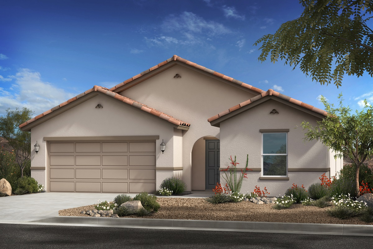 New Homes in Surprise, AZ - Cortana at Desert Oasis Plan 1621 Elevation A