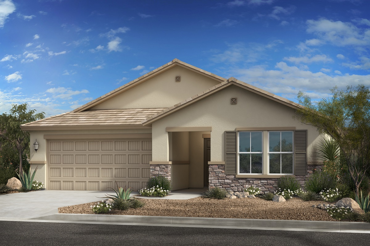 New Homes in Surprise, AZ - Cortana at Desert Oasis Plan 1621 Elevation C
