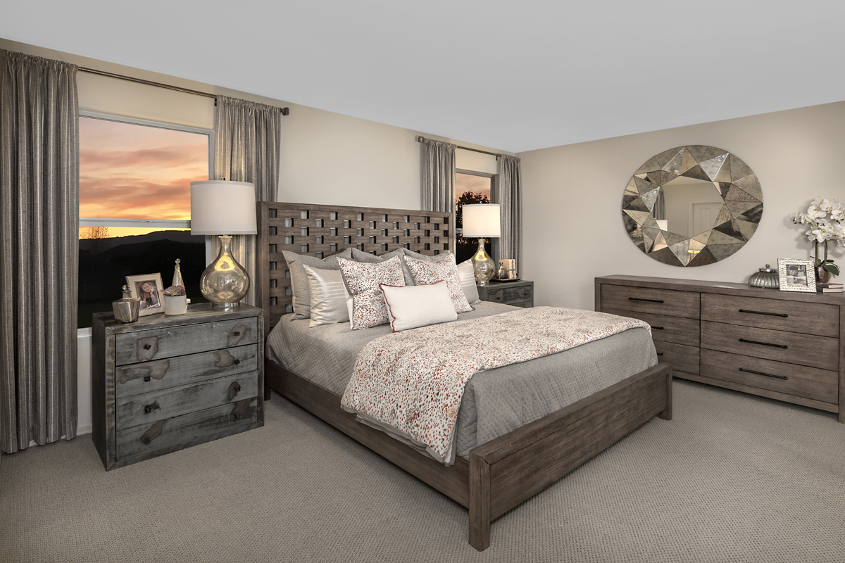 New Homes in Florence, AZ - Crestfield Manor Plan 1849 Master Bedroom
