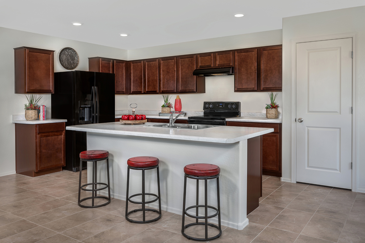 New Homes in Buckeye, AZ - Encantada Estates Plan 1439 Kitchen