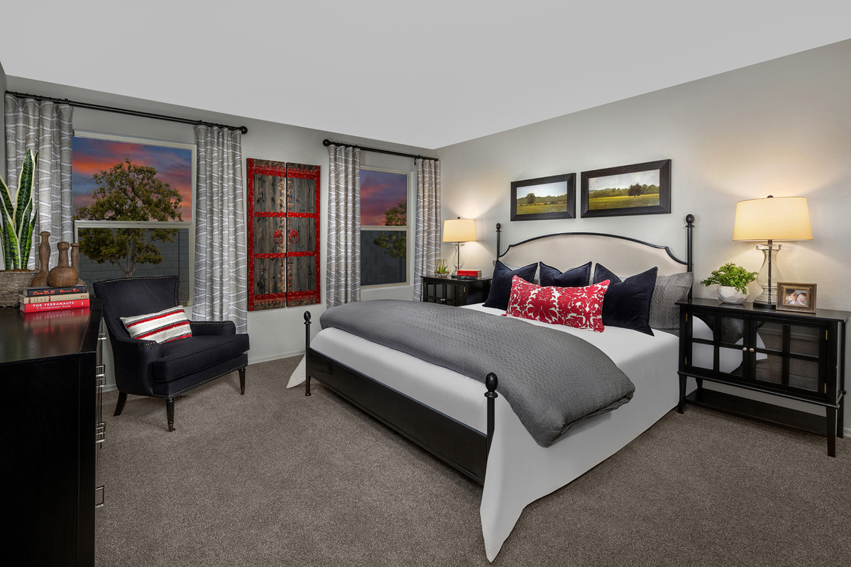 New Homes in Buckeye, AZ - Encantada Estates Plan 1439 Master Bedroom