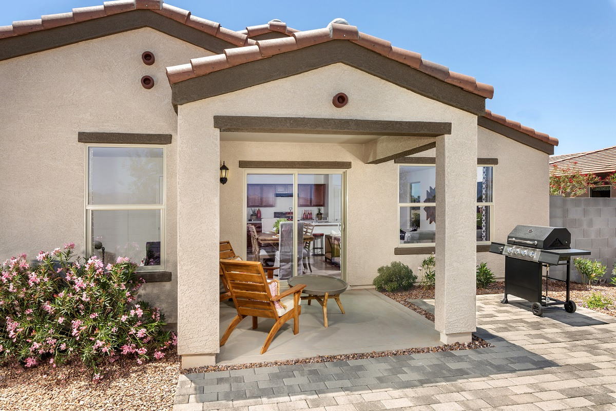 New Homes in Buckeye, AZ - Encantada Estates Plan 1439 Patio
