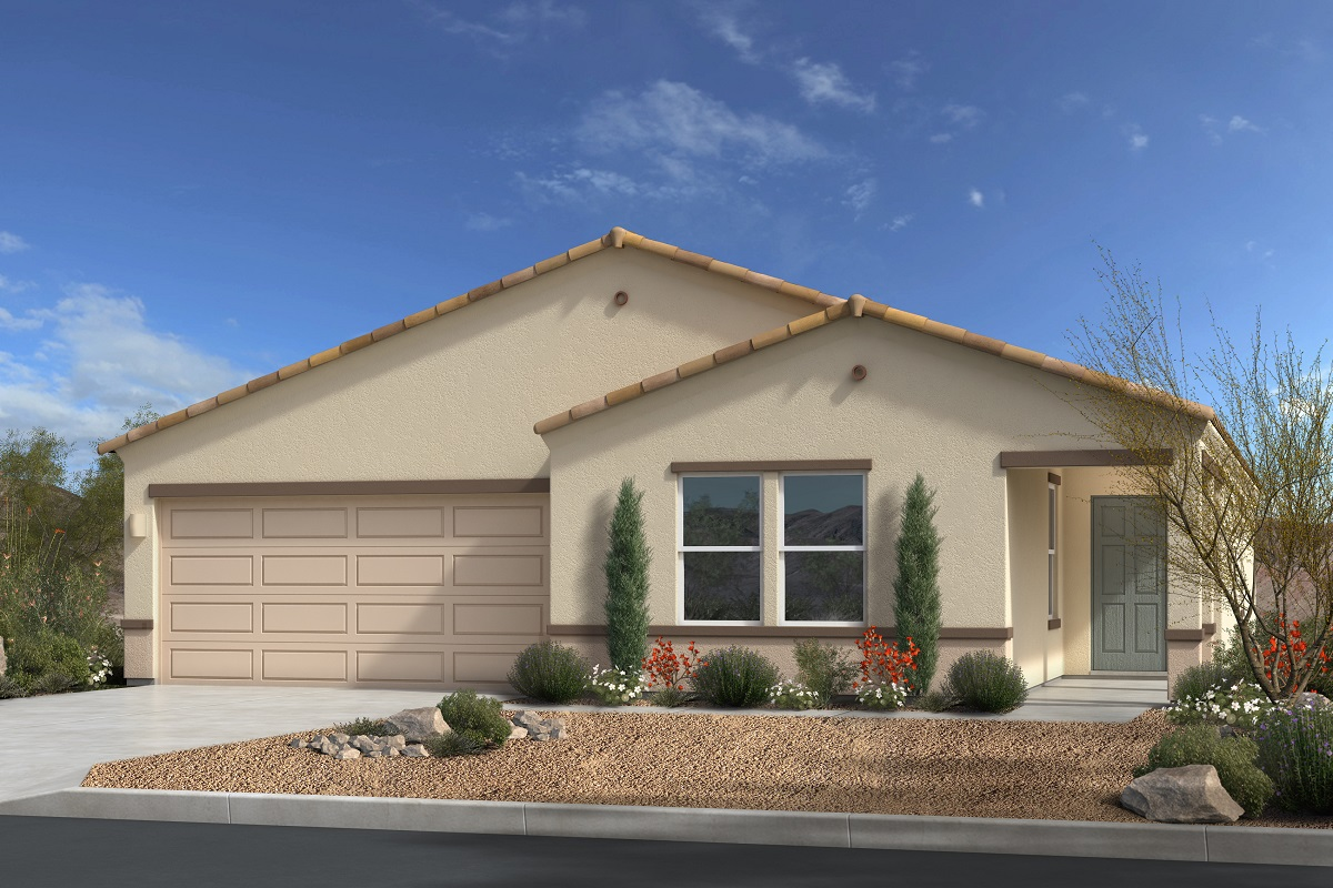 New Homes in Gold Canyon, AZ - Entrada Del Oro II Plan 1994 Elevation A