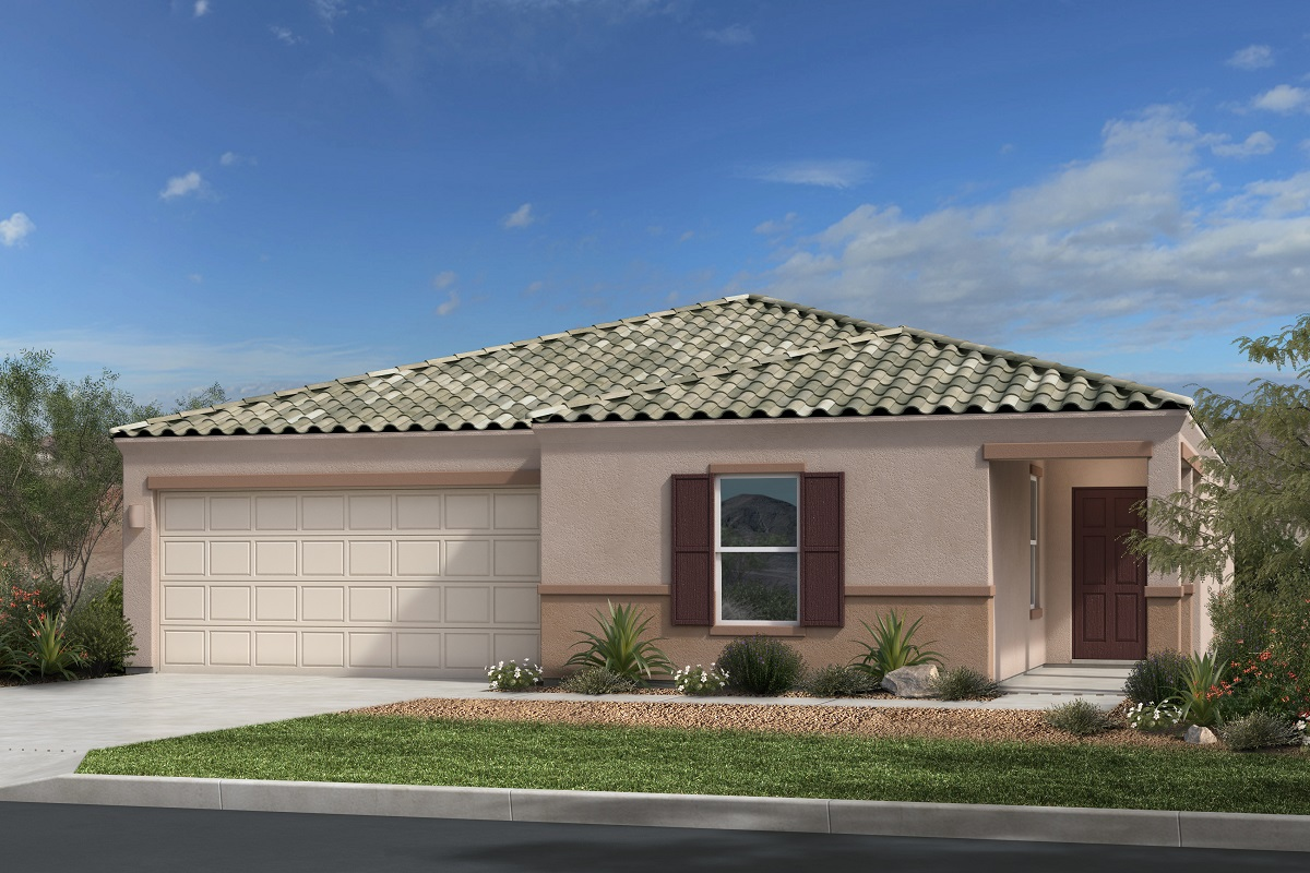 New Homes in Gold Canyon, AZ - Entrada Del Oro Plan 1994 Elevation B