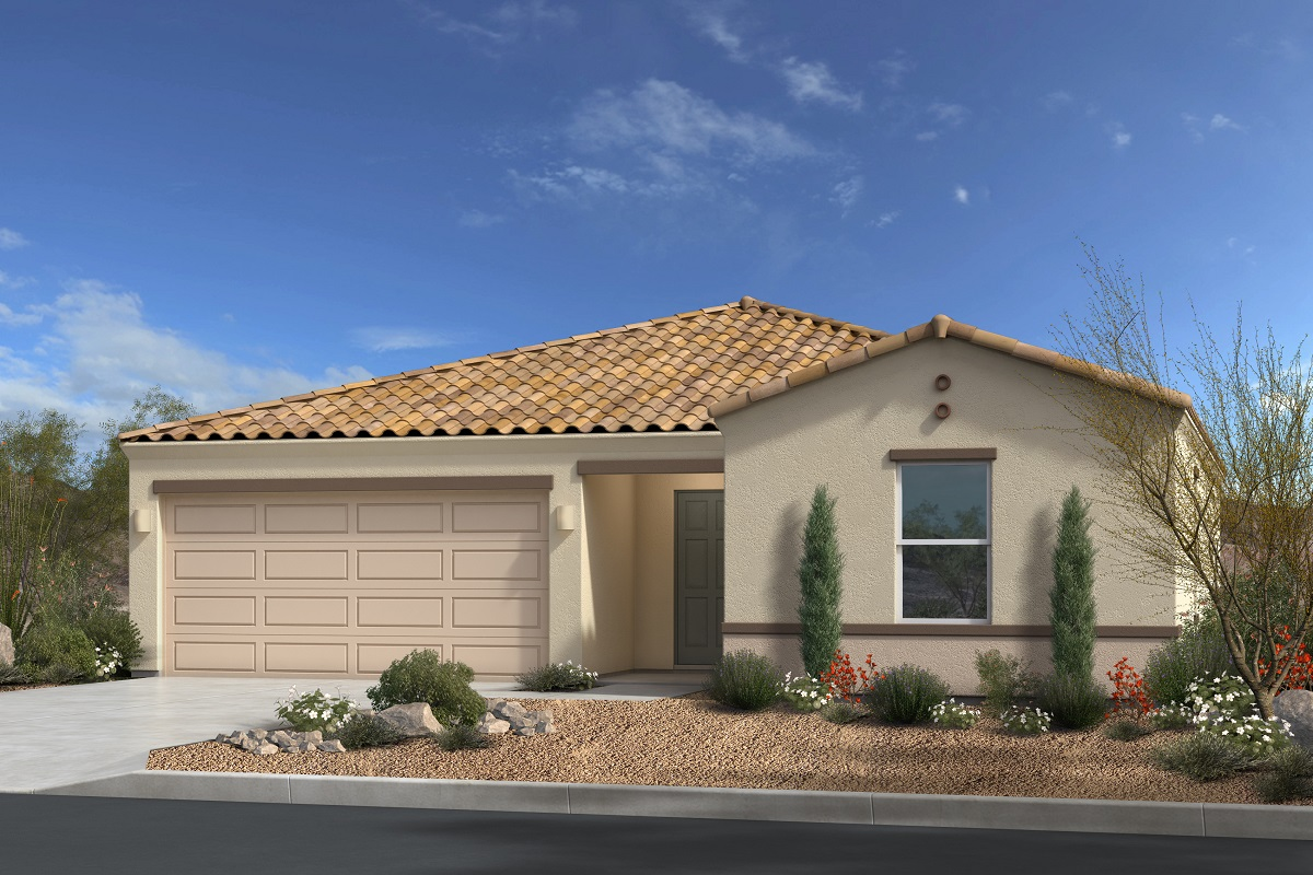 New Homes in Gold Canyon, AZ - Entrada Del Oro II Plan 1476 Elevation A