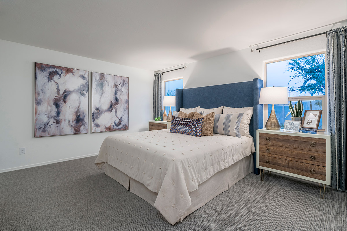New Homes in Coolidge, AZ - Heartland Ranch Plan 1591 Master Bedroom