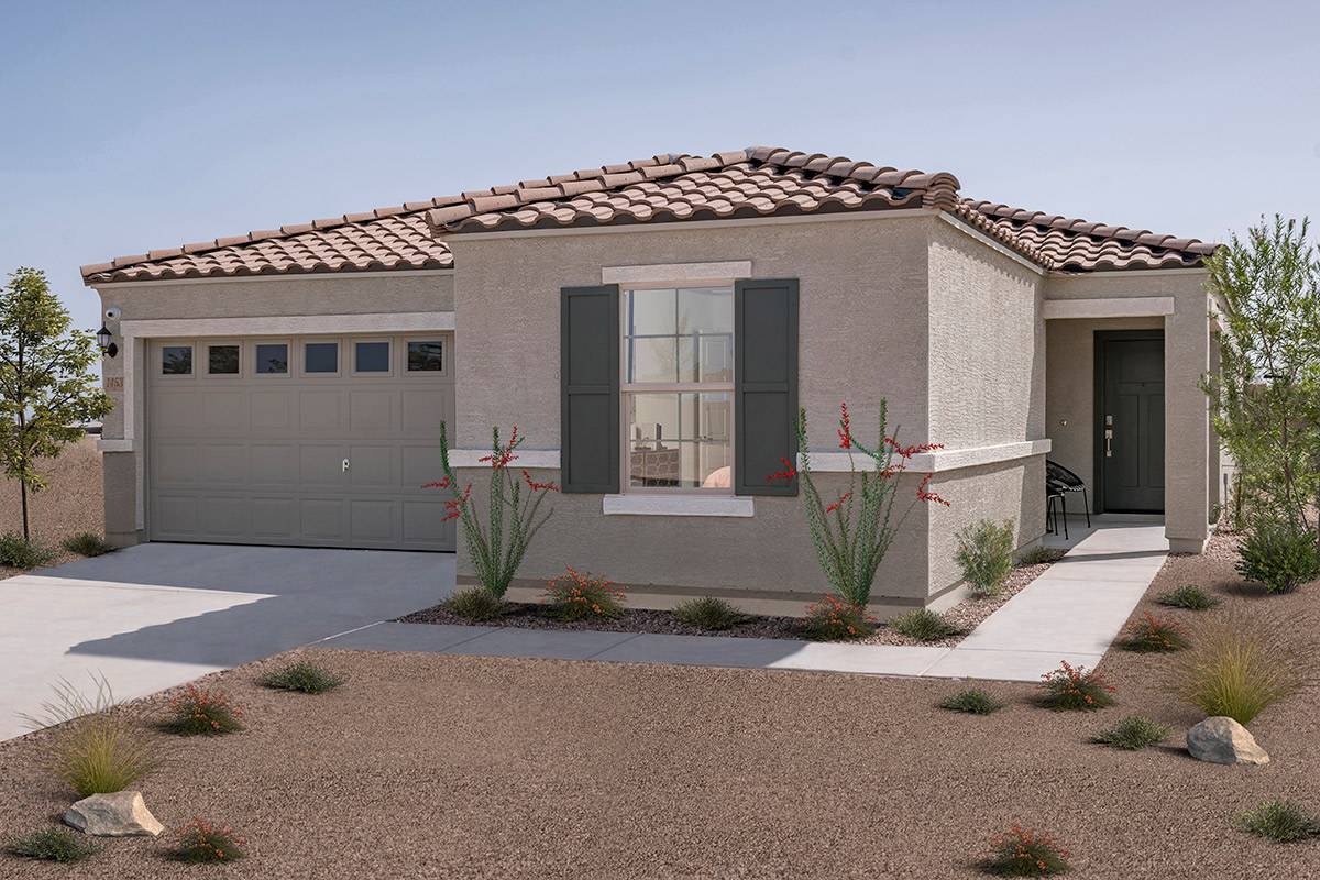 New Homes in Coolidge, AZ - Plan 1859 Modeled