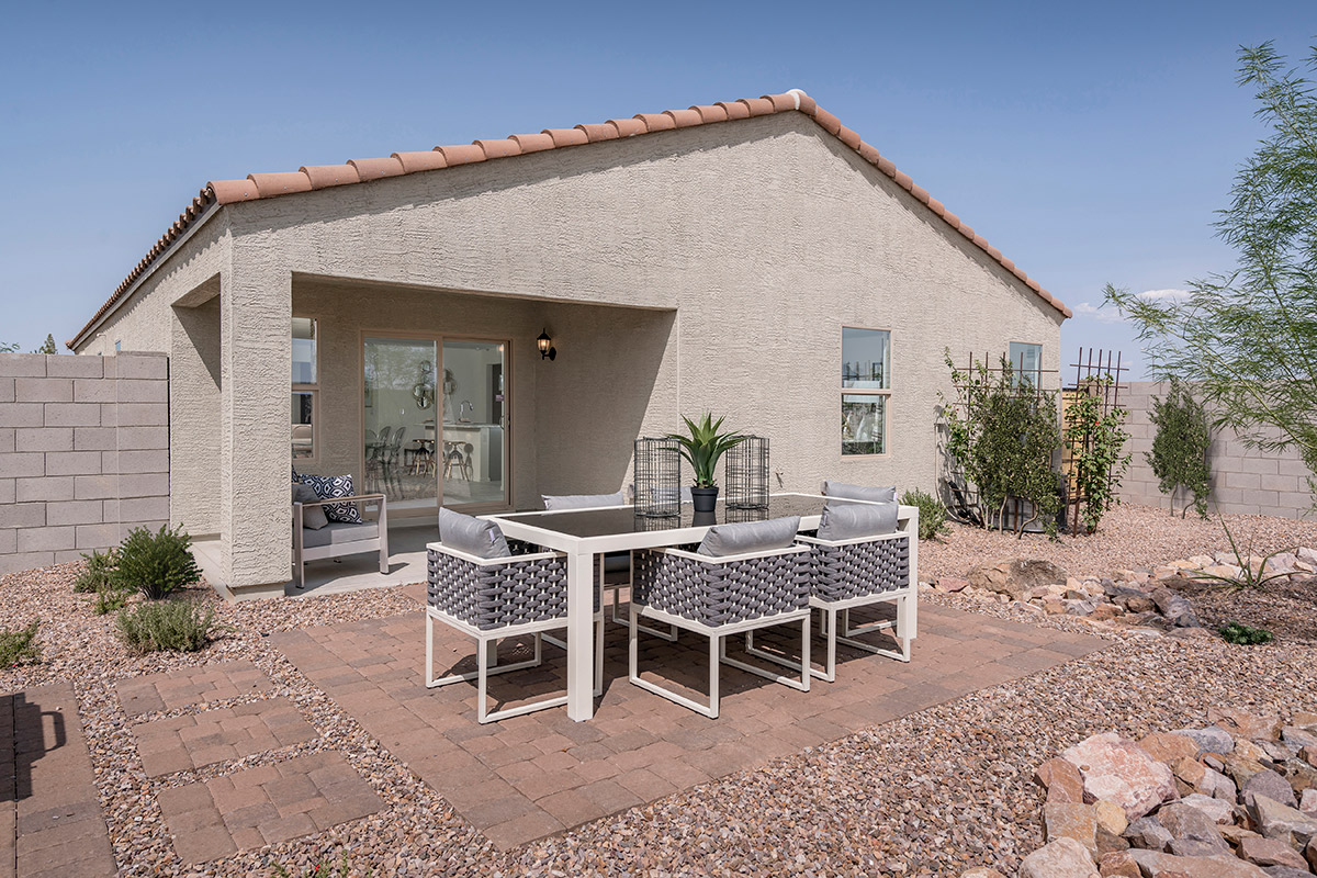 New Homes in Coolidge, AZ - Heartland Ranch Plan 1859 Patio