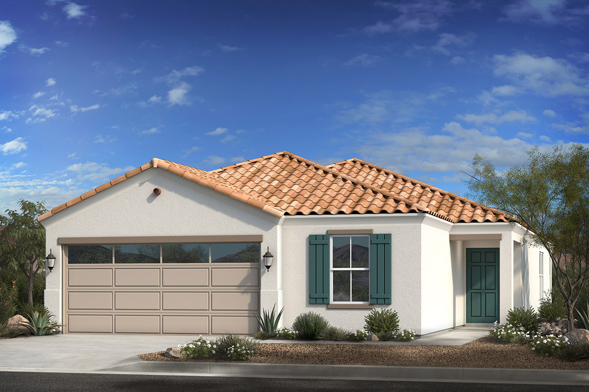 New Homes in Coolidge, AZ - Elevation A