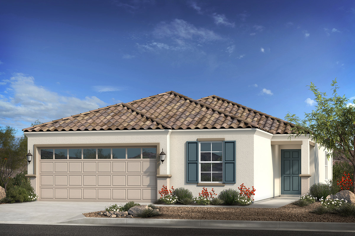 New Homes in Coolidge, AZ - Heartland Ranch Plan 1908 Elevation B