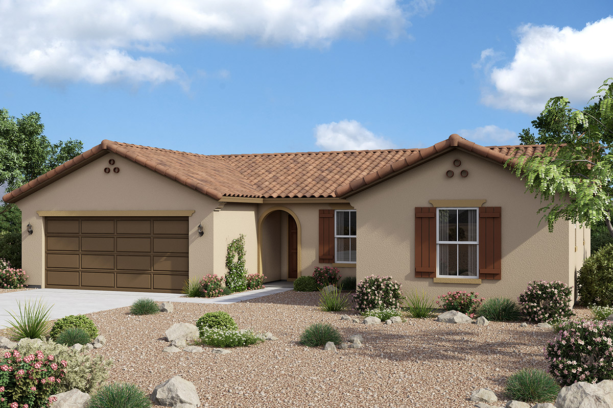 New Homes in Maricopa, AZ - Homestead II Plan 1411 Spanish 'A'