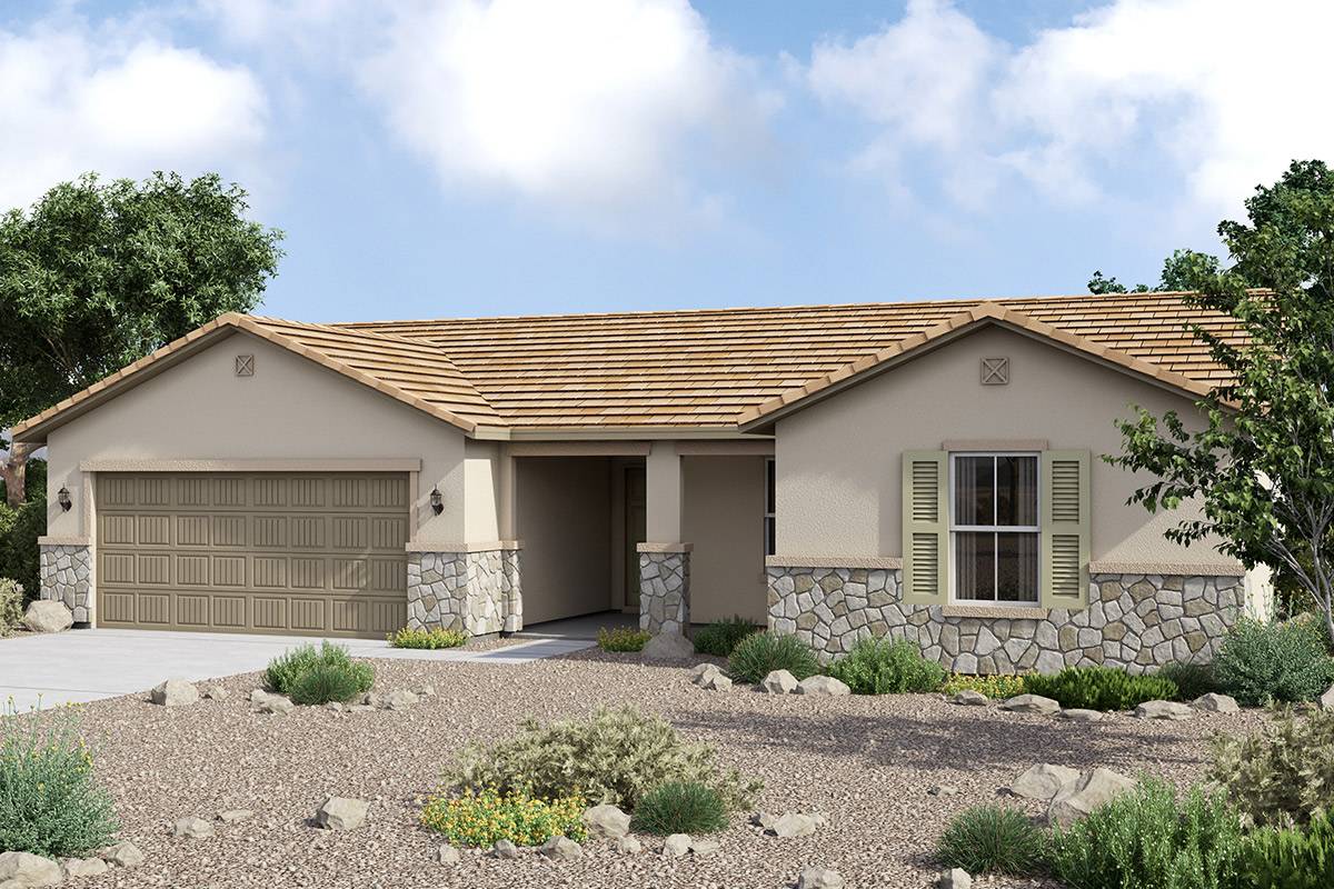 New Homes in Maricopa, AZ - Homestead II Plan 1411 Tuscan 'C'