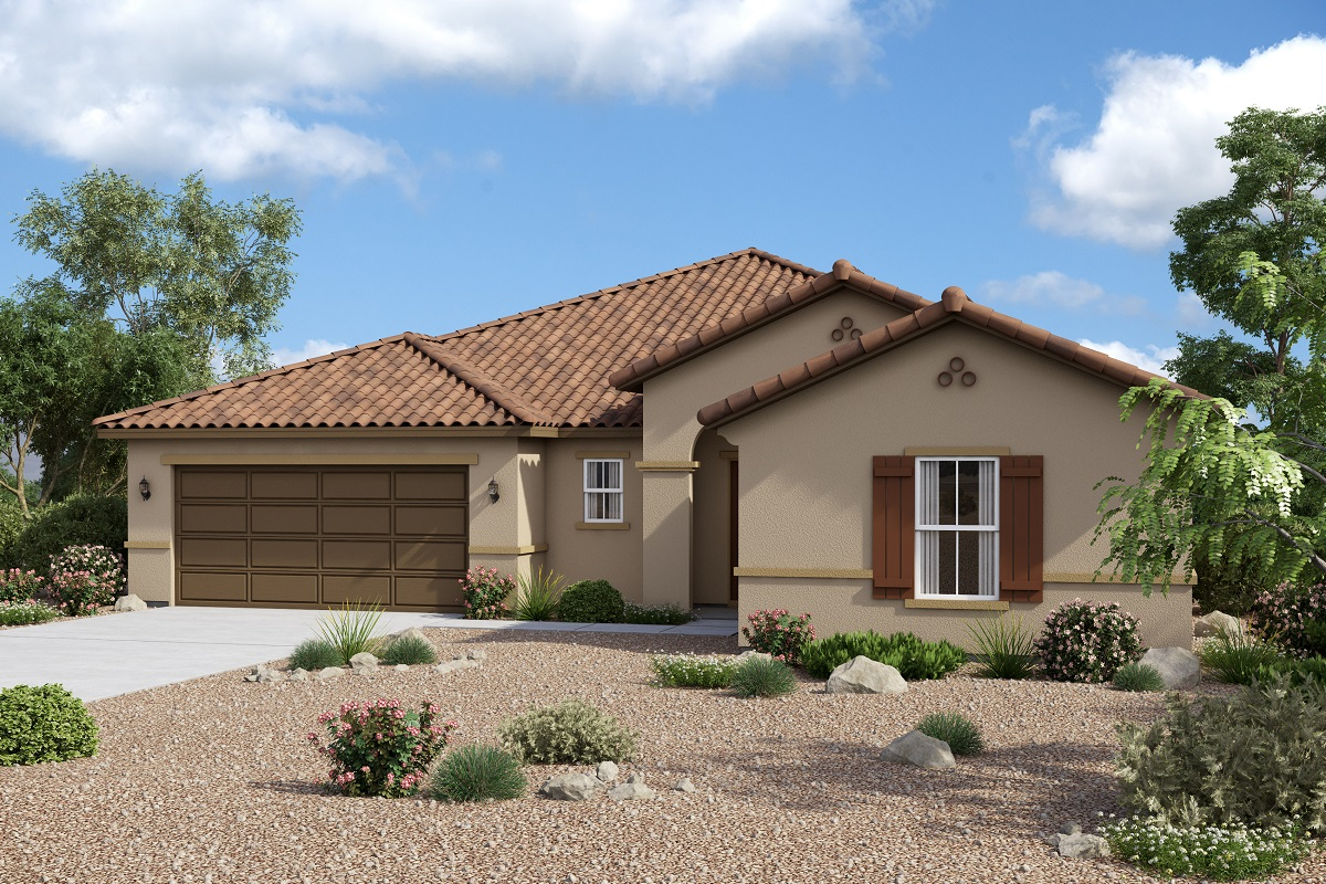 New Homes in Maricopa, AZ - Homestead II Plan 2347 Spanish 'A'