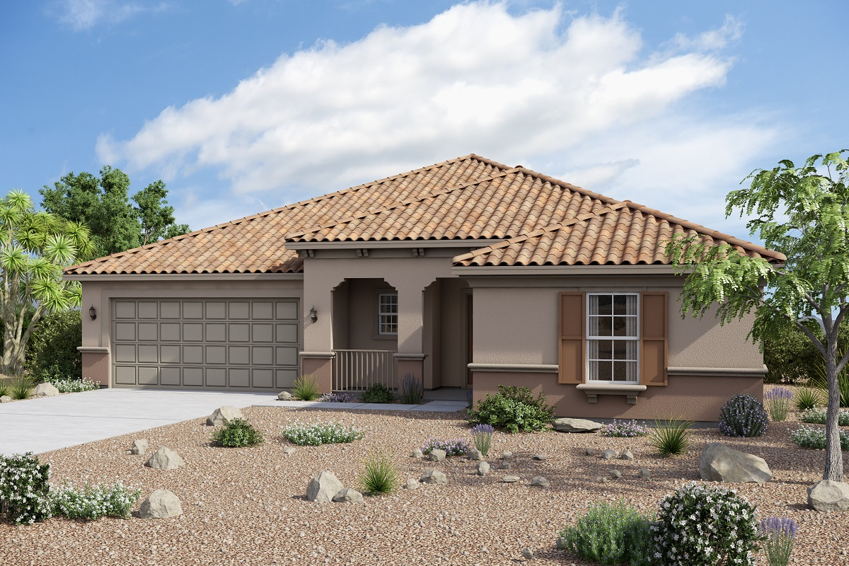 New Homes in Maricopa, AZ - Homestead II Plan 2347 Southern Italian 'B'