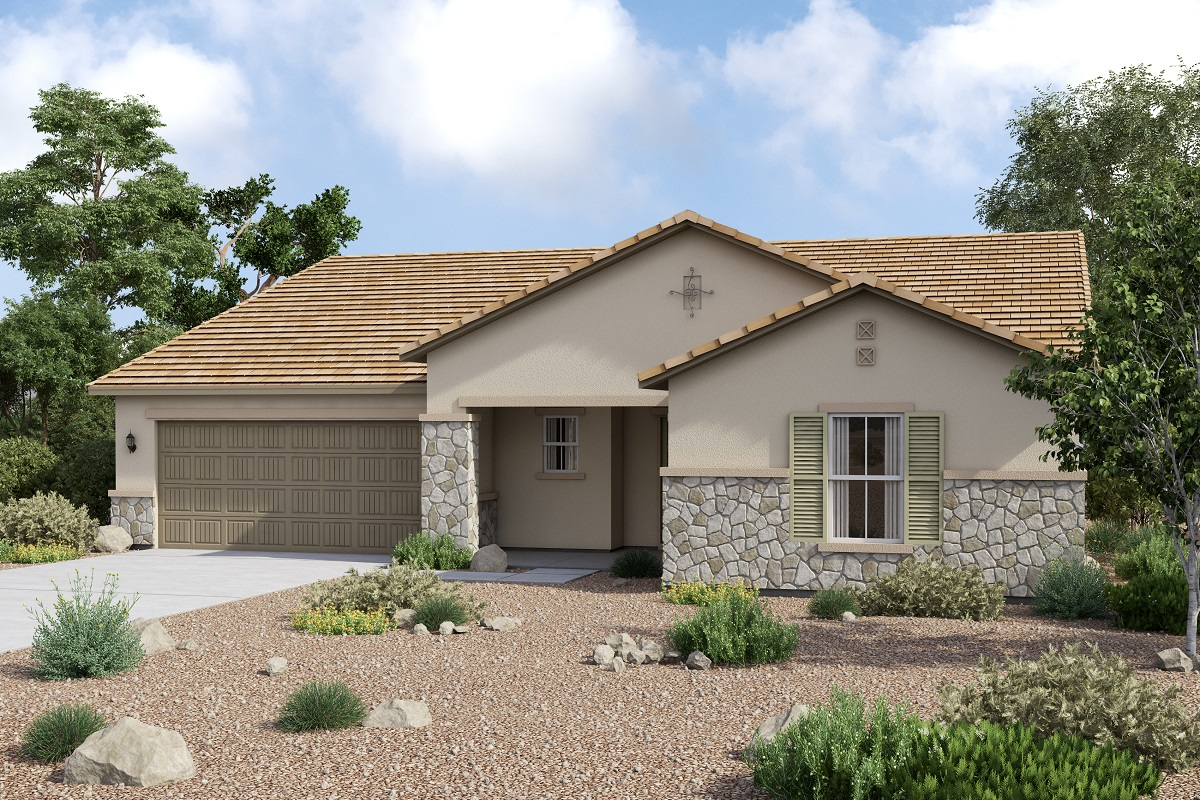 New Homes in Maricopa, AZ - Homestead II Plan 2347 Tuscan 'C'