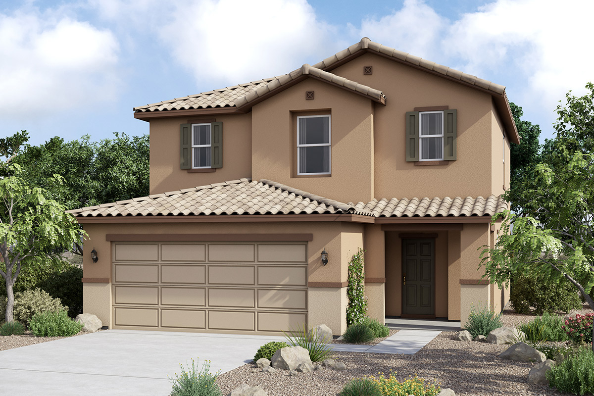 New Homes in Maricopa, AZ - Plan 1431 Tuscan 'C'